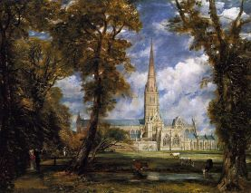 Salisbury_Cathedral_from_the_Bishop_Grounds_c.1825