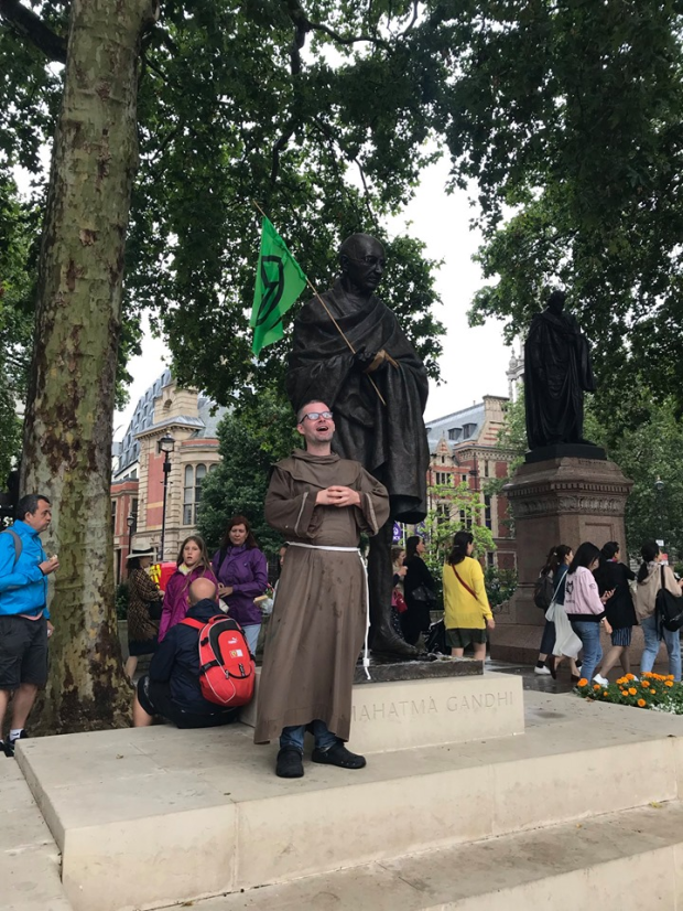Brother Finian in London