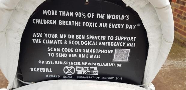 Message in a pram